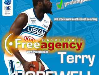 Free Agency Client Terry Hopewell Signs in France with US LAVAL Basket