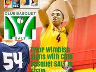 Free Agency Client Tylor Wimbish Signs in Spain