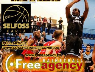 Palmer Signs for FSU Selfoss in Iceland