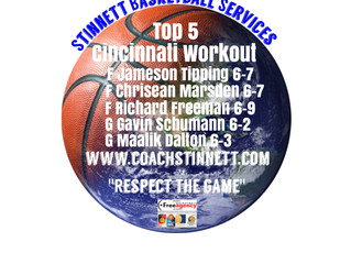 Cincinnati Workout Top 5
