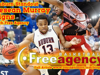 Former Auburn Standout Desean Murray Signs with Free Agency