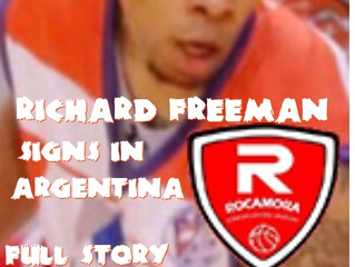 Richard Freeman Signs in Argentina