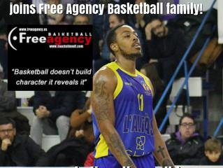 Japhet Kadji Signs with Free Agency Basketball