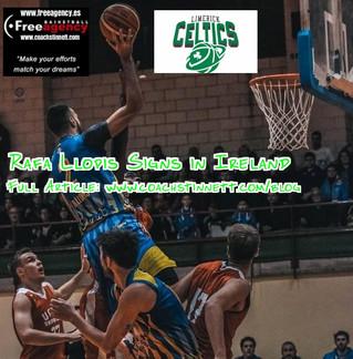 Rafa Llopis Signs with the Limerick Celtics