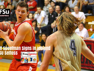 Free Agency Client Jett Speelman Signs in Iceland