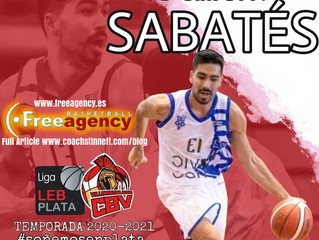 Sabates Signs in LEB Silver Spain