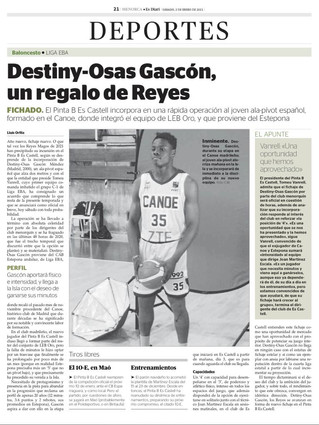 Destiny Osas-Gascon Signs in Spain