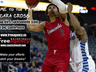 PF Jacara Cross Signs with Free Agency Basketball