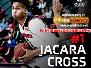 Free Agency Client Jacara Cross Signs with Oulun NMKY in Finland