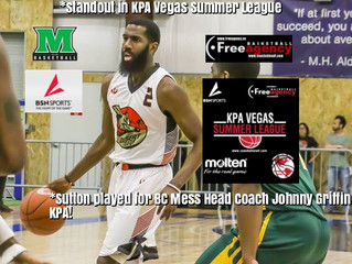 KPA Vegas Standout Leon Sutton Signs in Luxembourg (played for BC Mess Head Coach Johnny Griffin in