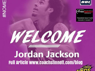 6-9 Jordan Jackson Signs with the London Lions in England