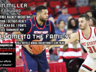 Former Detroit Standout Justin Miller Signs with Free Agency Basketball