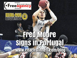 Fred Moore Signs in Portugal