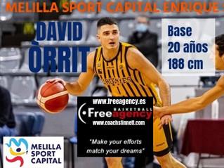 Free Agency Client David Orrit Signs in Spain