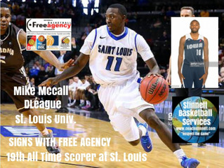 Mike McCall Signs with Free Agency Basketball