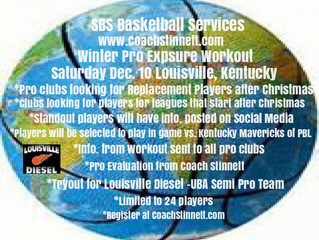 Great Roster of Players Signing Up to Attend SBS Winter Pro Exposure Workout and Louisville Diesel T