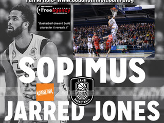 Jarred Jones Signs in Top League Finland