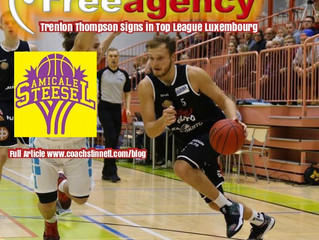 Trenton Thompson Signs with Amicale Steesel in Total League Luxembourg