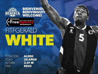Fitzgerald White Signs with Menorca in Spain
