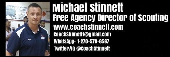 Michael Stinnett Free Agency Director of