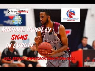 6-9 Michael Hundley Signs in Europe