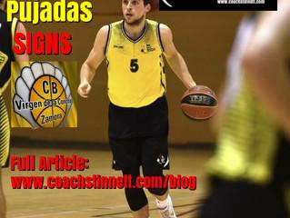 Aleix Pujadas Signs in Spain