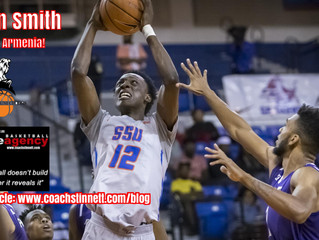 Jahlin Smith Signs in Armenia!