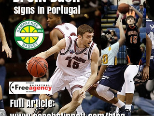 Brent Bach Signs in Portugal