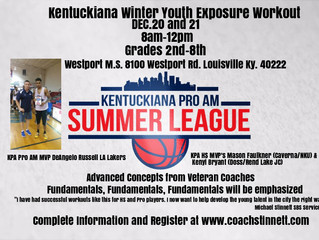 SBS will have 1st KPA Youth Winter Exposure Workout