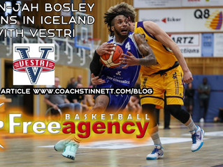 Bosley Signs for Vestri in Iceland