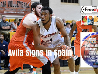 Free Agency Client Edson Avila Signs in Spain