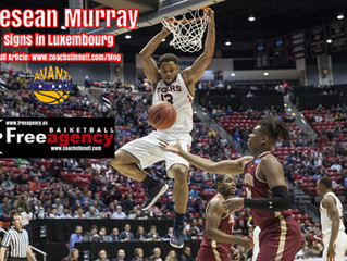 Desean Murray Signs with Avanti Mondorf in Luxembourg