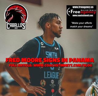 Fred Moore Signs in Panama