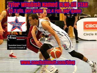 Free Agency Client Tylor Wimbish Named BLNO All Star in Norway