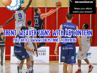 Free Agency Client Trent Weaver Signs with AB Contern in Top League Luxembourg