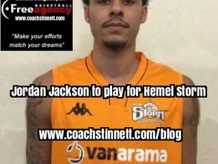 Jordan Jackson to Play for Hemel Storm