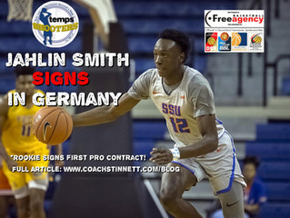 Rookie Jahlin Smith Signs in Germany