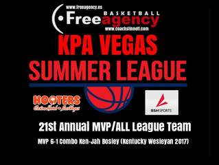 2017 KPA VEGAS MVP/ALL LEAGUE TEAM