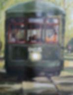 Sarver.Oil.Linen.Riding the Streetcar.jp