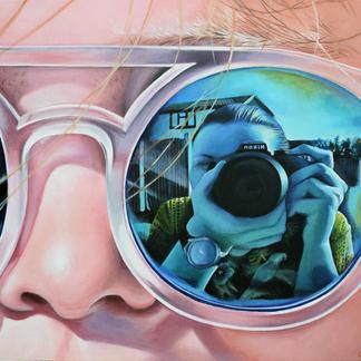 Sunglasses (Self- Portrait)