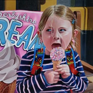 Ice Cream in Matlock Bath