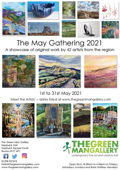 Green Man Gallery - May Gathering Exhibition