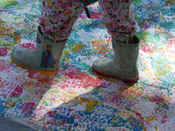 Wellie painting