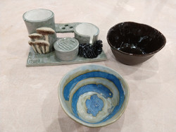 Just out of the kiln