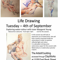 LIFE DRAWING IN SOUTHPORT