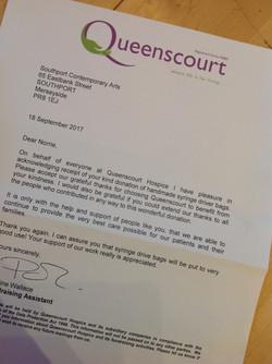 Queens court letter