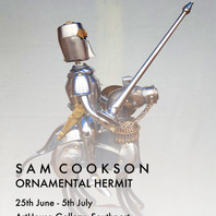 Ornamental Hermit - An exhibition by Sam Cookson - 25th June - 6th July 2019