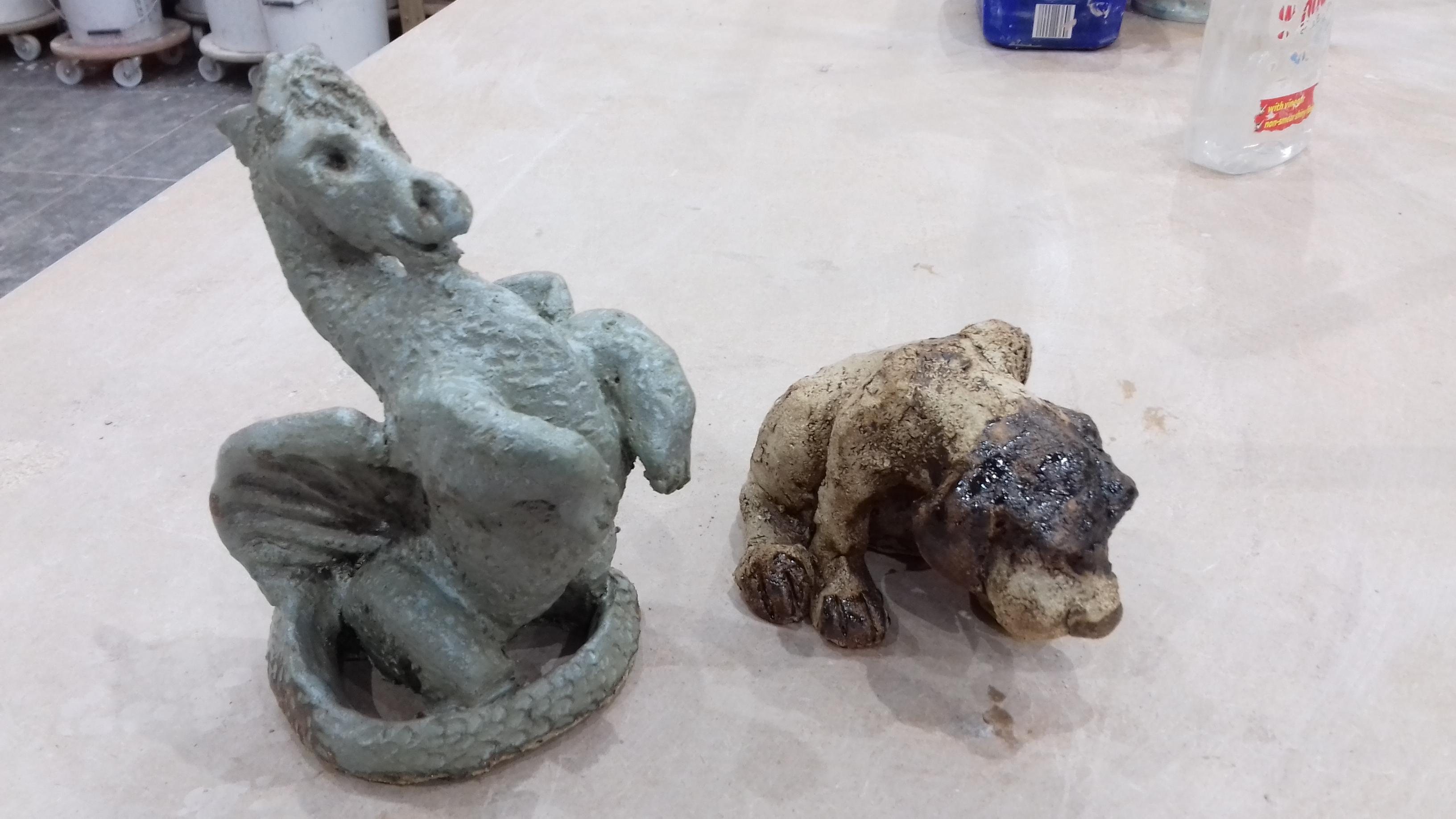 Dragon and dog