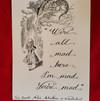 Calligraphy quote 2 -Alice in Wonderland