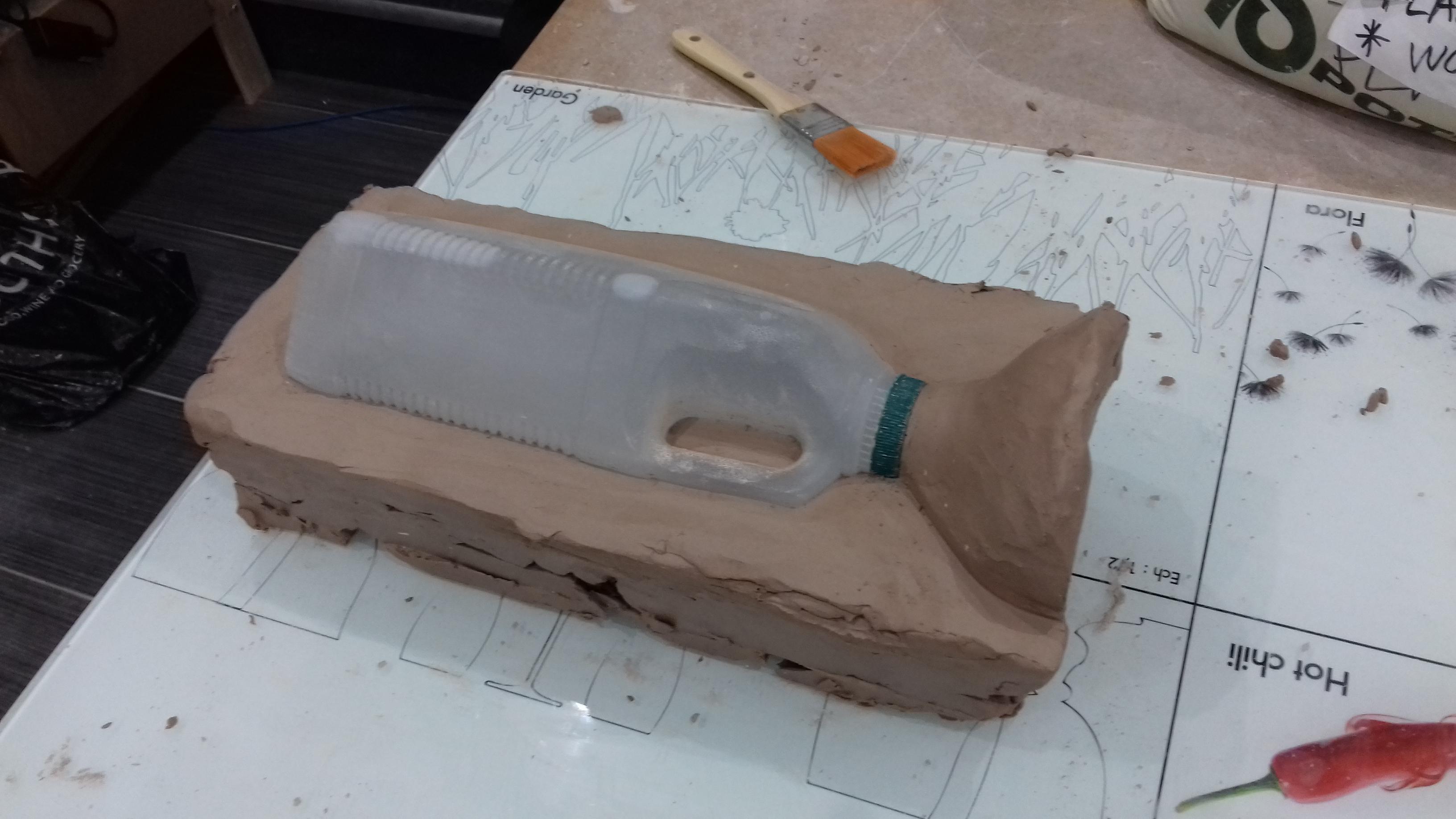 Bottle mould 07